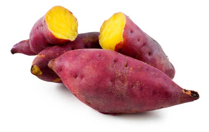 Studies reveal sweet potatoes raise our blood levels of vitamin A.